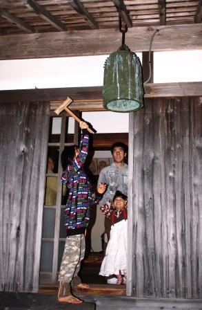 復活した除夜の鐘