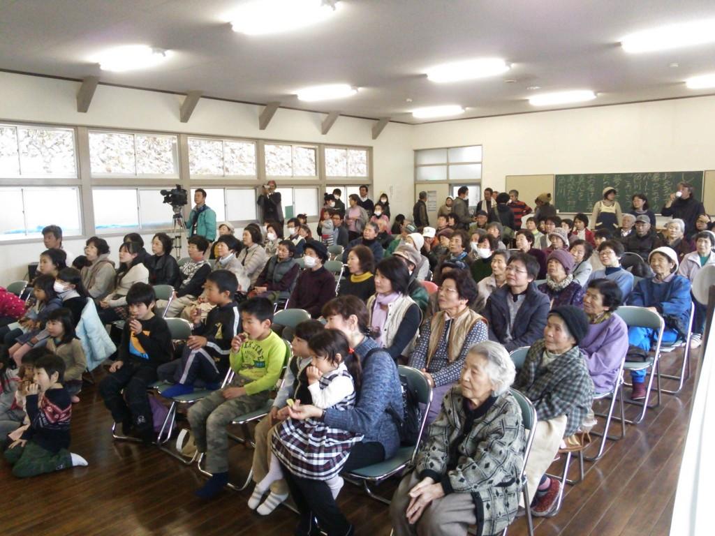過去最多の16演目の発表  色川大文化祭