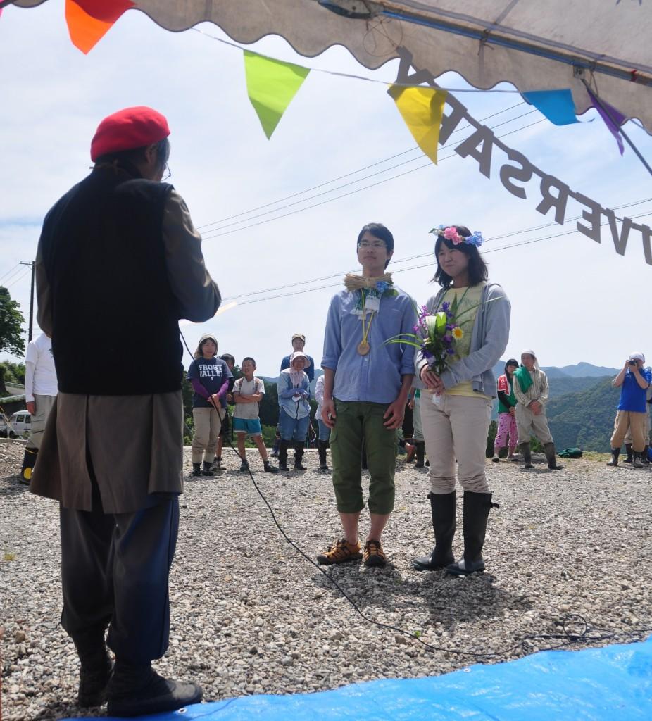 小阪の棚田で田植え&棚田結婚式