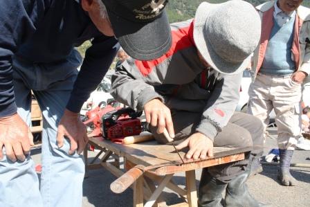 道具の手入れを学ぶ目立て講習会