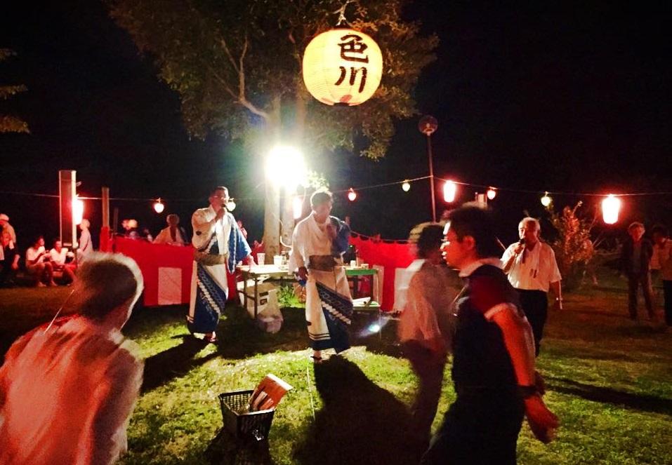 それぞれの思いを乗せて-色川盆踊り大会-