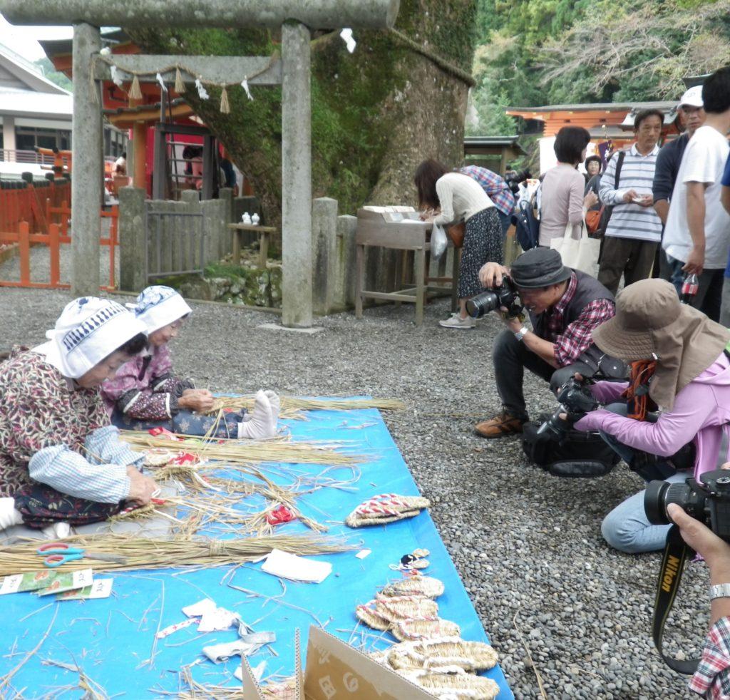 あげいん熊野詣に色川から参加