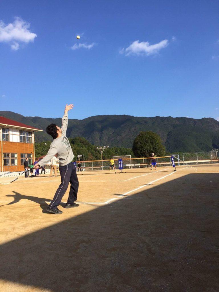 新運動場で新春テニス大会