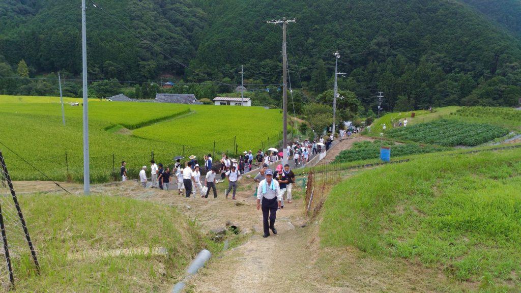 龍神村で、棚田サミット開催