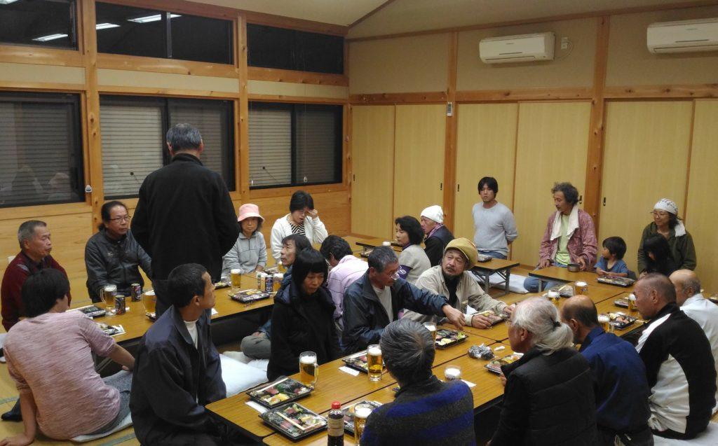 小阪・口色川の住民が2回目の交流会
