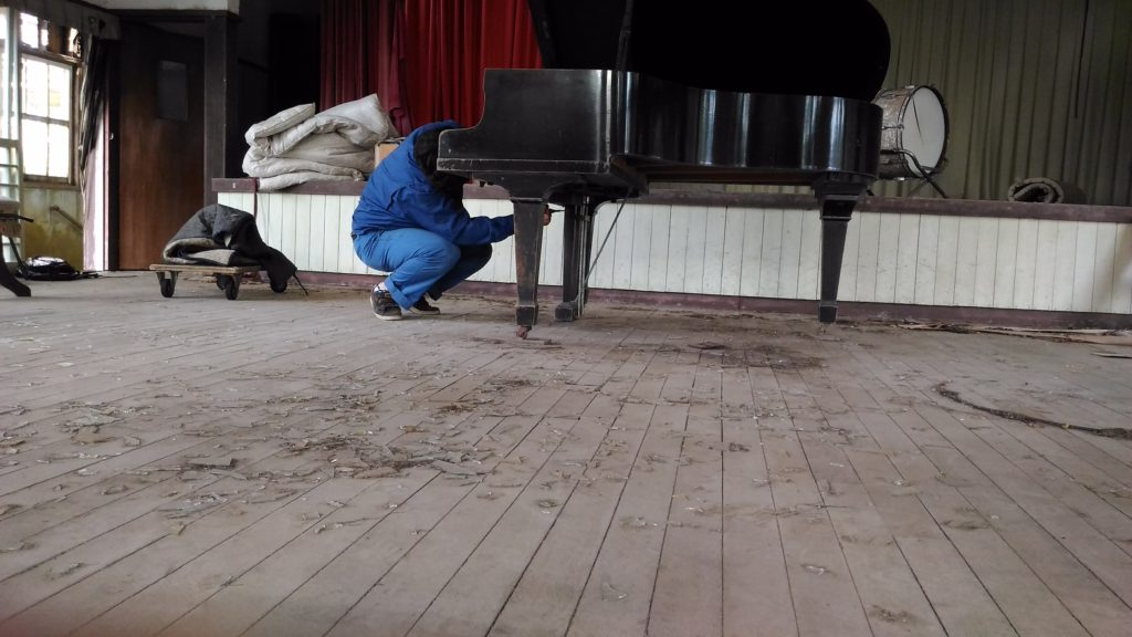 妙法小学校のピアノ復活、その後