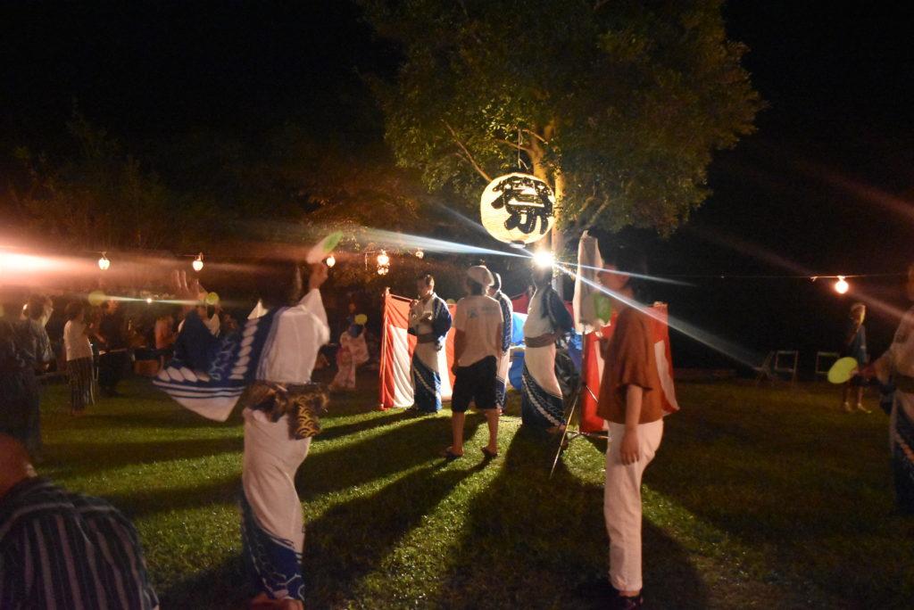 夏の風物詩、色川盆踊り大会
